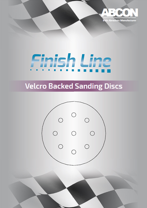 Finish Line Velcro Backed Sanding Discs