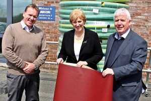 Minister Heather Humphreys Engages with Local Businesses at Abcon