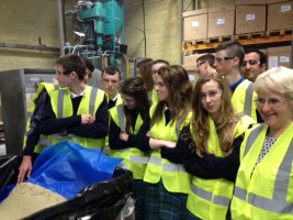 Transition Year Students from St Aidan's Comprehensive School, Cootehill visit Abcon