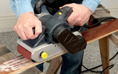 6 Pro Tips for Proper and Safe Sanding Techniques to Follow When Operating Belt Sanders