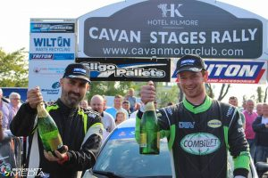 Moffett Triumphs in the Cavan Stages Rally 2018